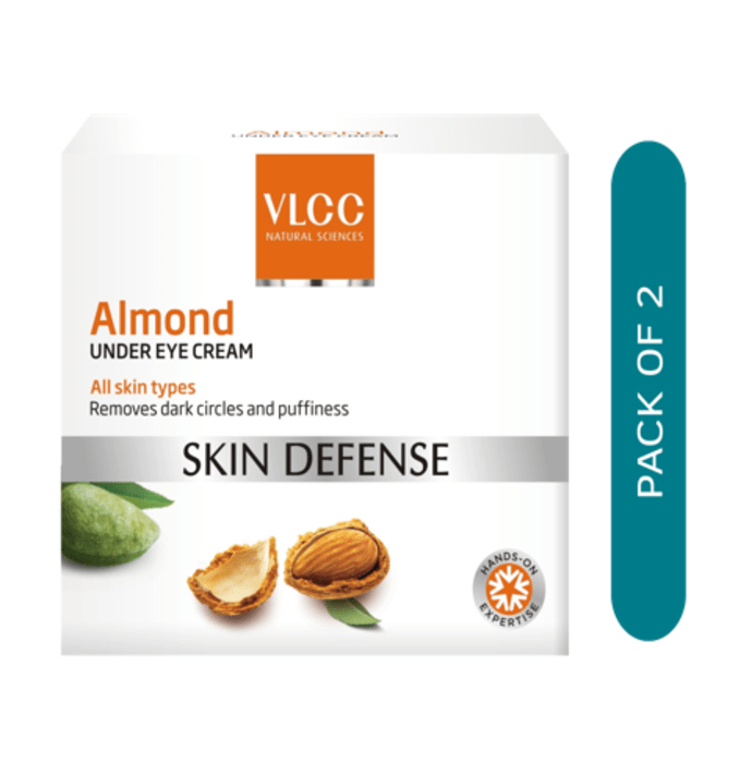 VLCC Almond Under Eye Cream Pack of 2