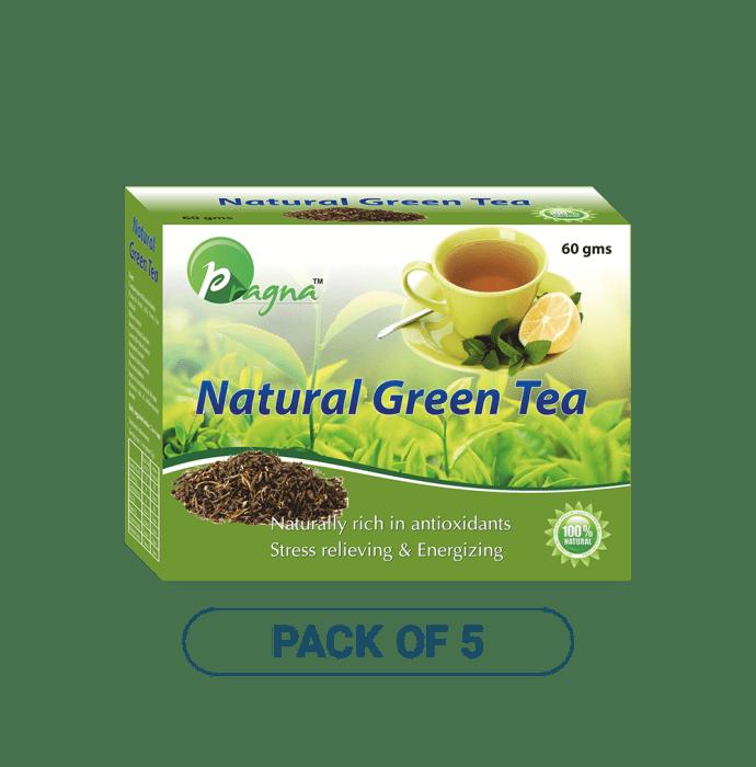 Pragna Natural Green Tea Pack of 5