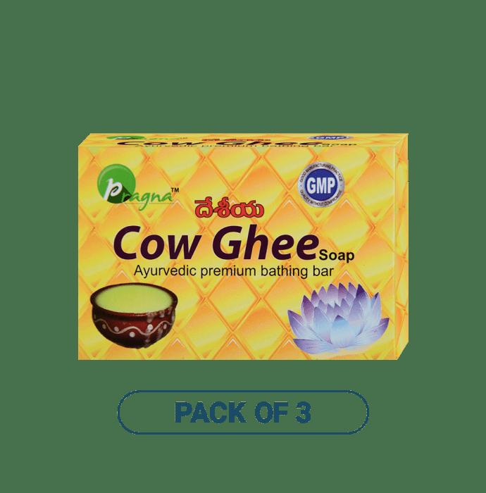 Pragna Cow Ghee Soap Pack of 3