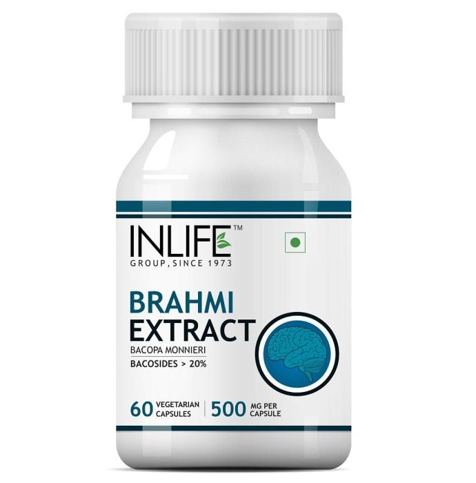 Inlife Brahmi Extract 500mg Capsule