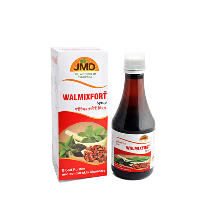 JMD Medico Walmixfort Syrup Pack of 2