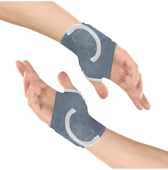 Healthgenie Wrist Brace with Thumb Support Grey