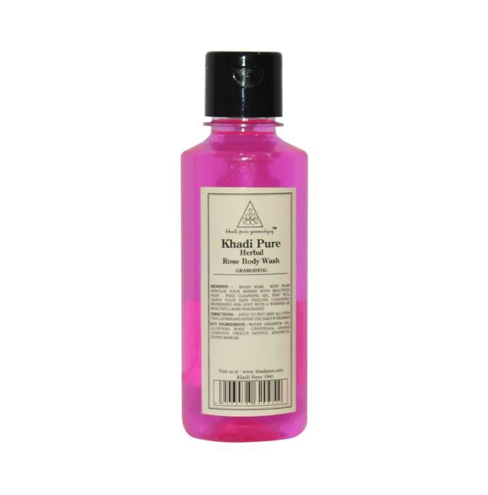 Khadi Pure Herbal Rose Body Wash