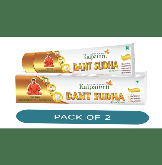 Kalpamrit Dant Sudha Dental Cream Pack of 2