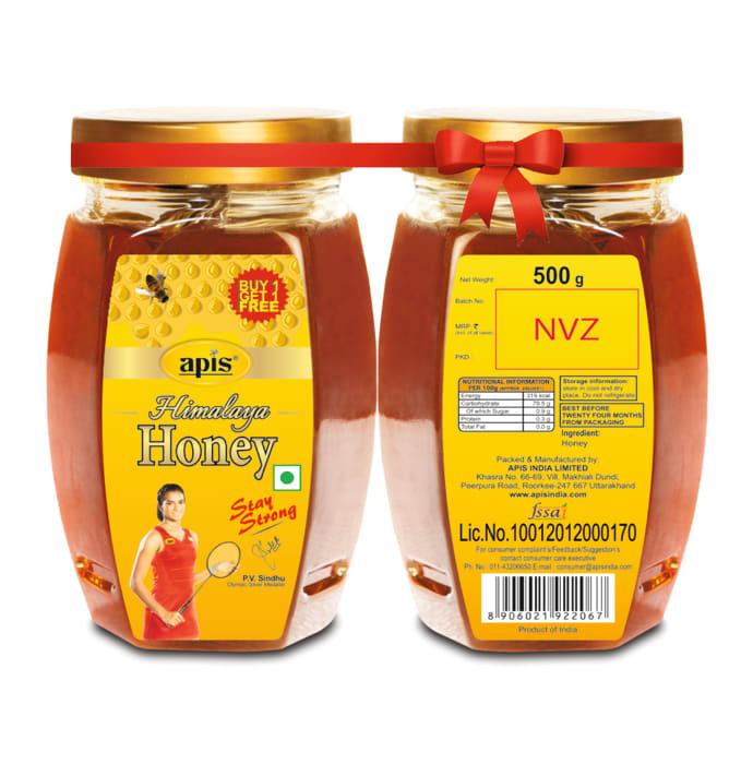 Apis Himalaya Honey (Buy1 Get1 Free)