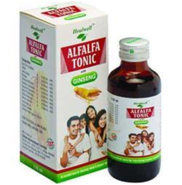 Healwell Alfalfa Tonic With Ginseng