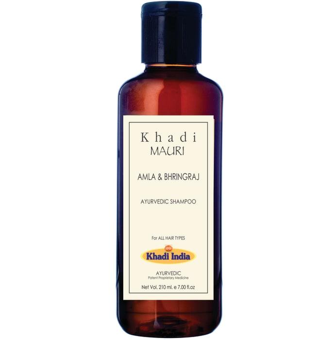Khadi Mauri Herbal Amla and Bhringraj Herbal Shampoo