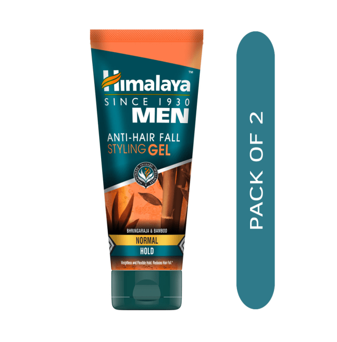 Himalaya Personal Care Anti Hairfall Styling Gel Normal Hold Pack of 2