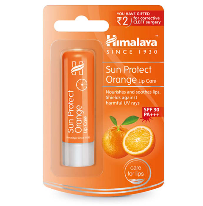 Himalaya Personal Care Sun Protect Orange Lip Care Orange