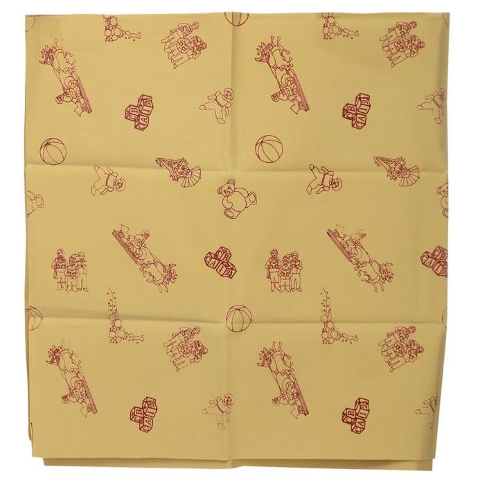 Surgicare Shoppie Reusable Silicon Coated Rubber Mattress Sheet (Size: 1 m)
