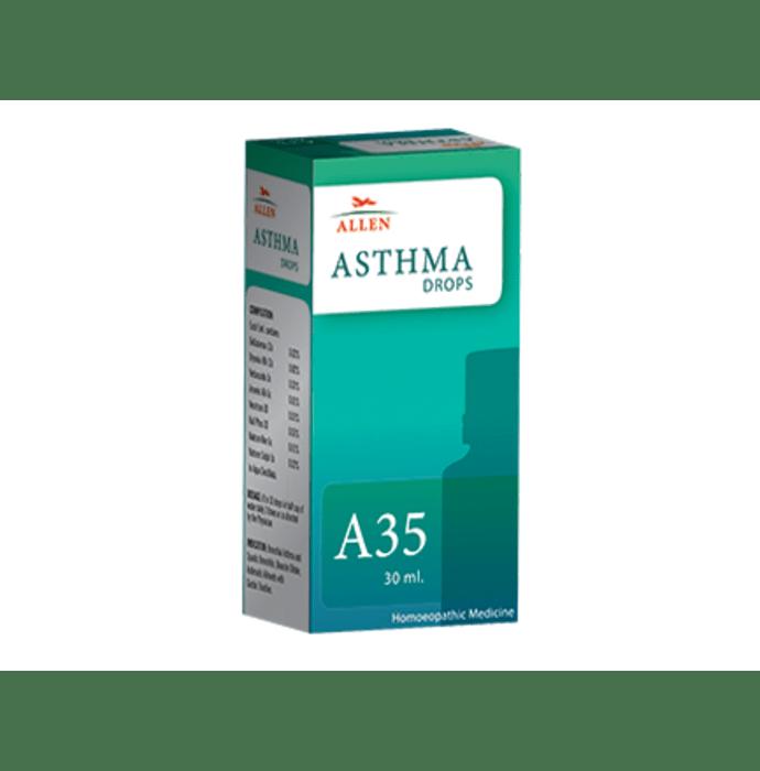 Allen A35 Asthma Drop Pack of 2