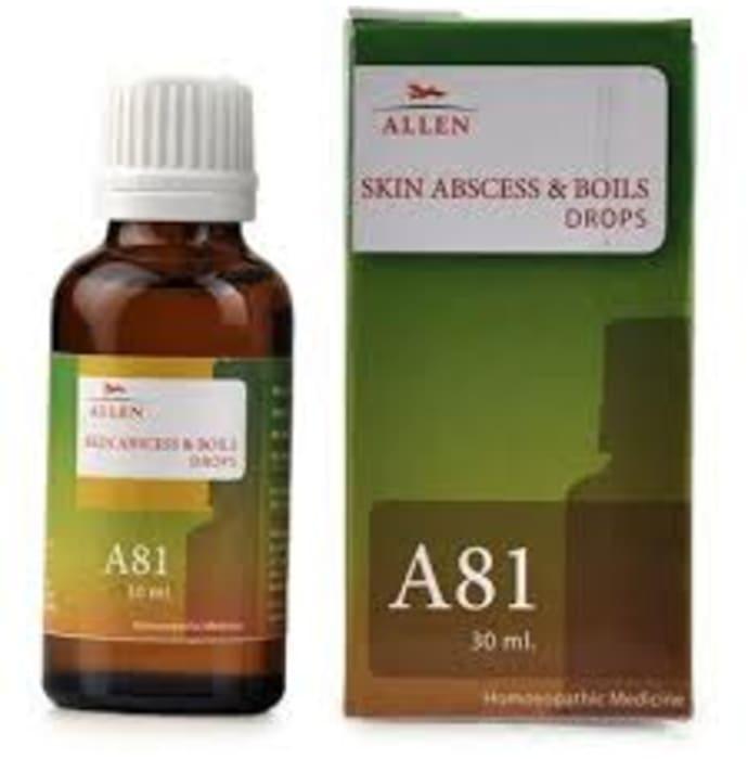 Allen A81 Skin Abscess And Boils Drop
