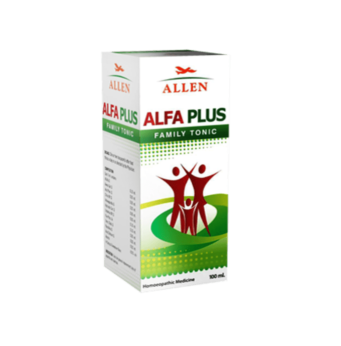 Allen Alfa Plus Ginseng Family Tonic