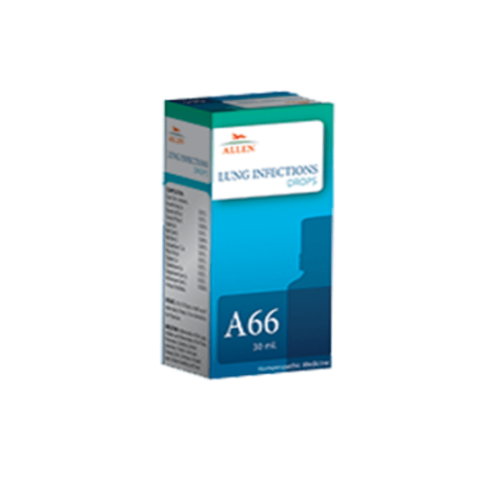 Allen A66 Lung Infections Drop