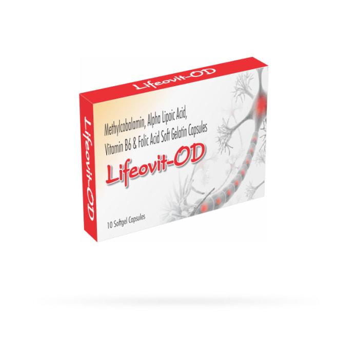 Lifeovit -OD Soft Gelatin Capsule