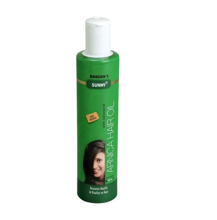 Bakson's Arnica Hair Oil With Jaborandi