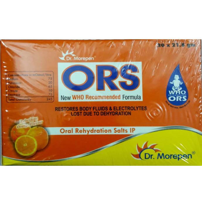 Dr Morepen ORS Powder Orange