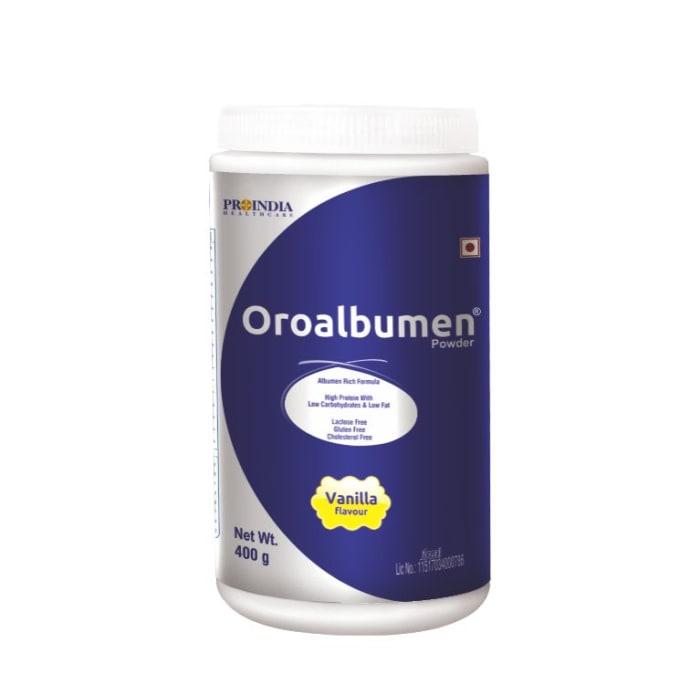 Proindia Healthcare Oroalbumen Powder Vanilla