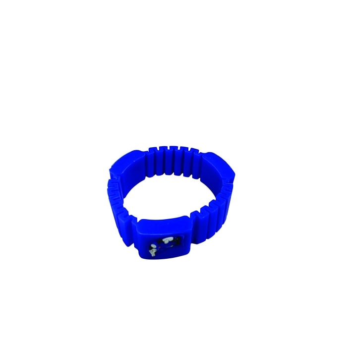 Surety for Safety Mosquito Repellent Bracelet Blue