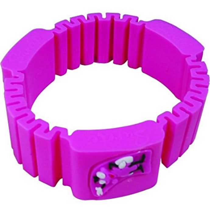 Surety for Safety Mosquito Repellent Bracelet Pink