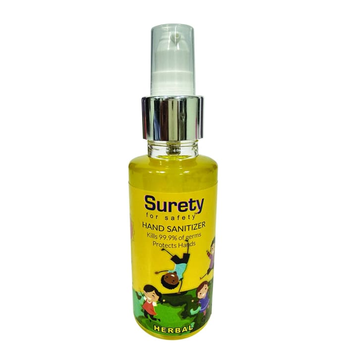 Surety for Safety Hand Sanitizer Lemon