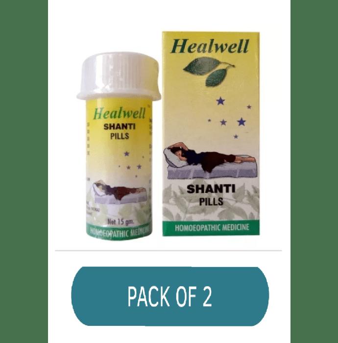 Healwell Shanti Pills Pack of 2