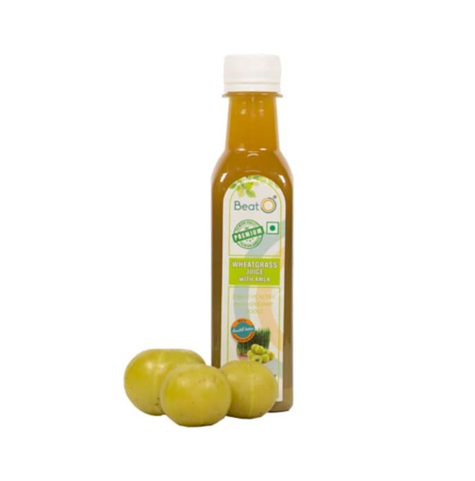 BeatO Wheatgrass with Amla Juice