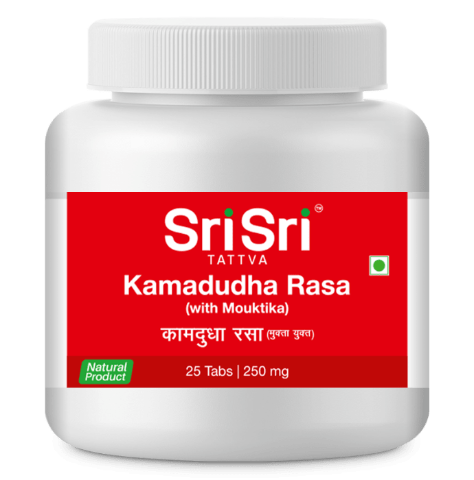 Sri Sri Tattva Kamadudha Rasa 250mg Tablet