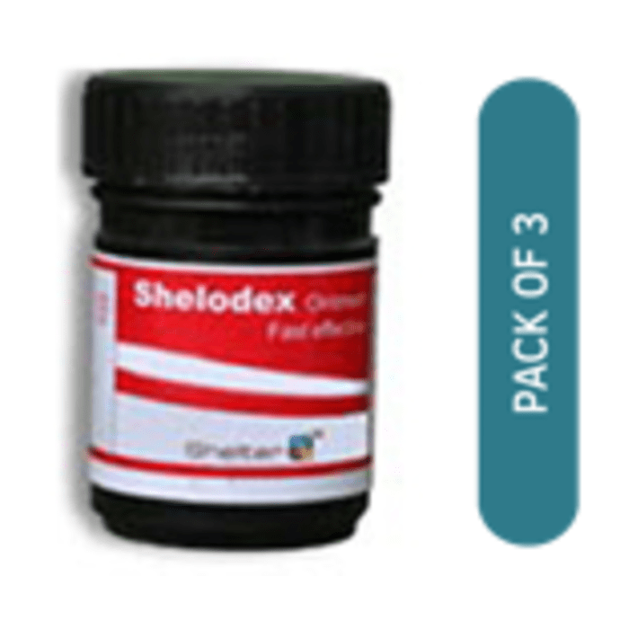 Shelodex Ointment Pack of 3