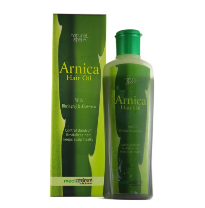 Medilexicon Arnica Hair Oil With Bhringraj & Aloe-vera