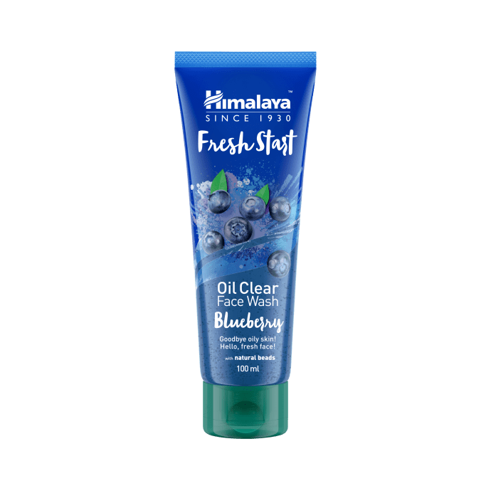 Himalaya Personal Care Fresh Start Oil Clear Face Wash Blueberry