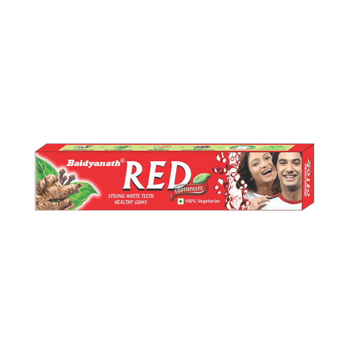 Baidyanath Red Toothpaste Pack of 4