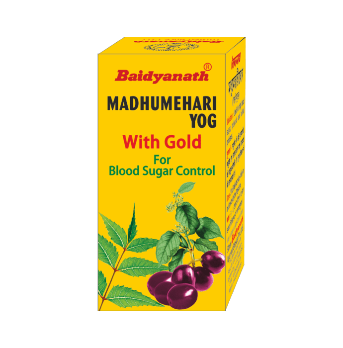 Baidyanath Madhumehari Yog with Gold Tablet