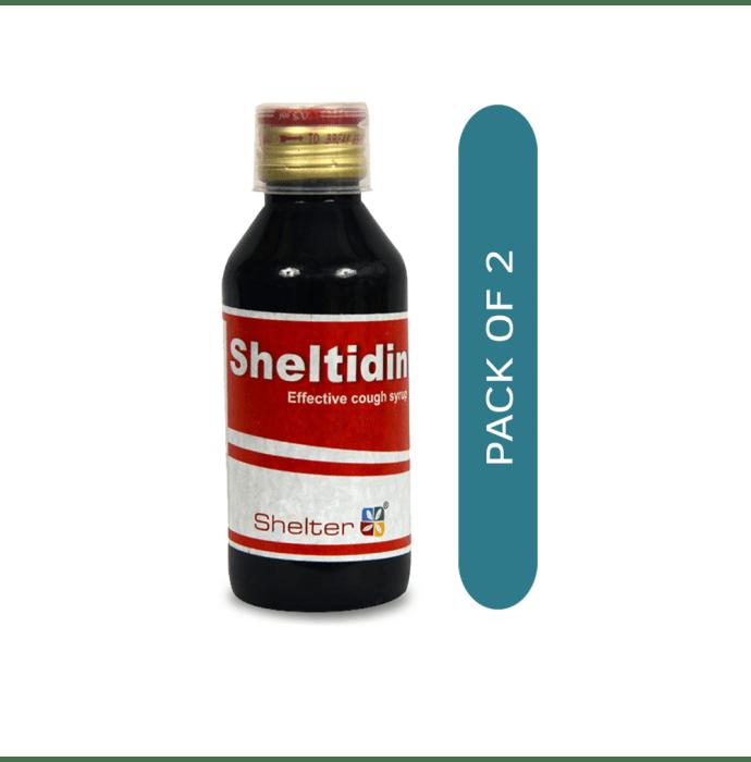 Sheltidin Cough Syrup Pack of 2