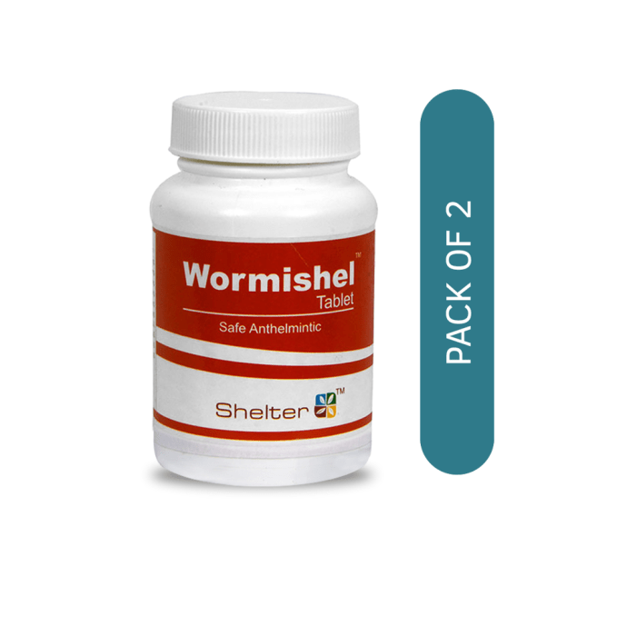 Wormishel Tablet Pack of 2