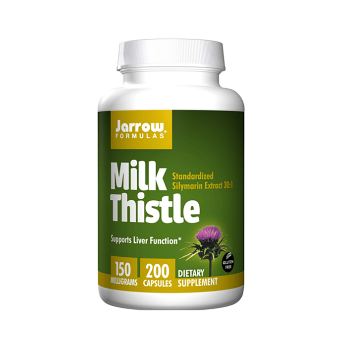 Jarrow Formulas Milk Thistle 150mg Capsule