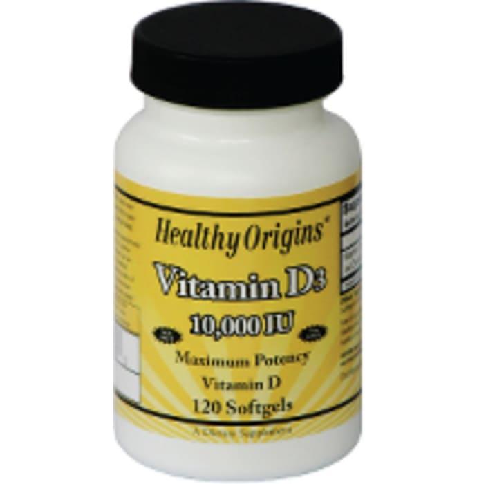 Healthy Origins Vitamin D3 10,000IU Softgels