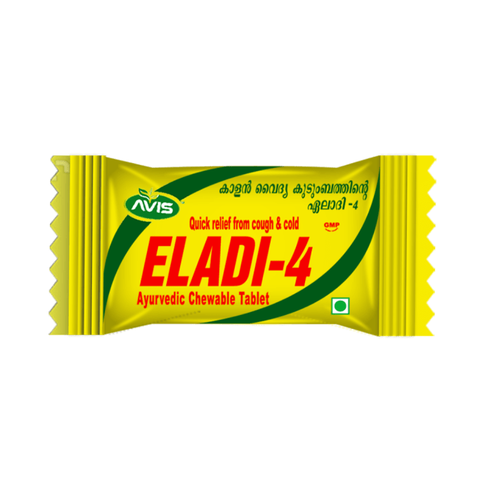 Avis Eladi-4 Ayurvedic Chewable Tablet
