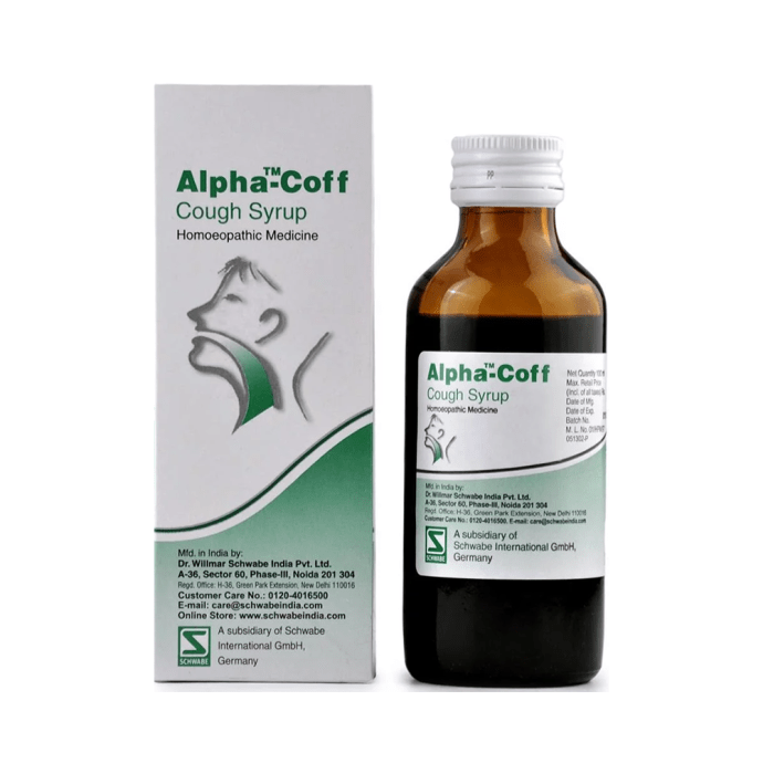 Dr Willmar Schwabe India Alpha-Coff Cough Syrup