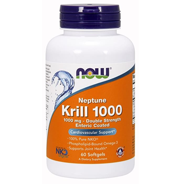 NOW Foods Neptune Krill 1000mg Softgels