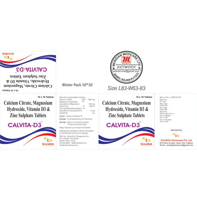 Calvita D3 Tablet