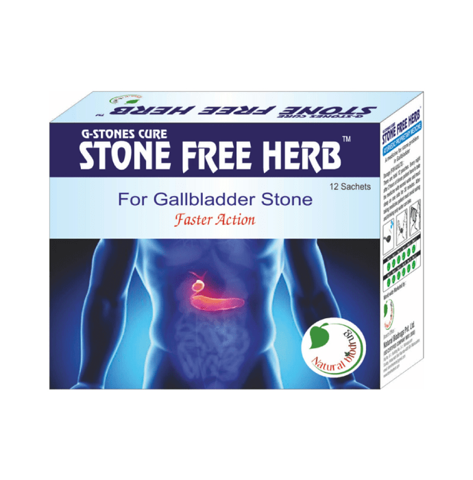 G-Stones Cure Stone Free Herb Vanilla delight