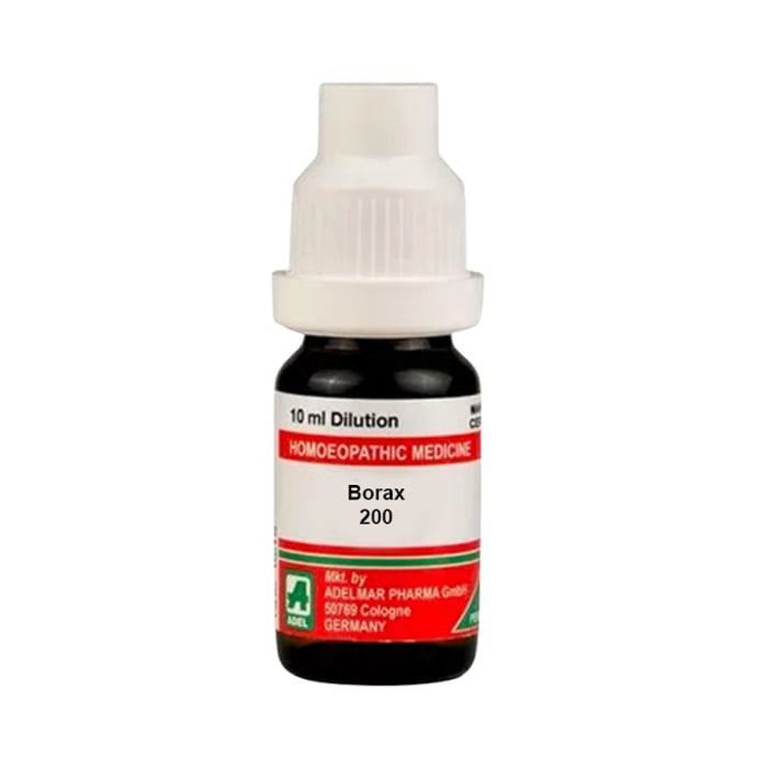 ADEL Borax Dilution 200 CH