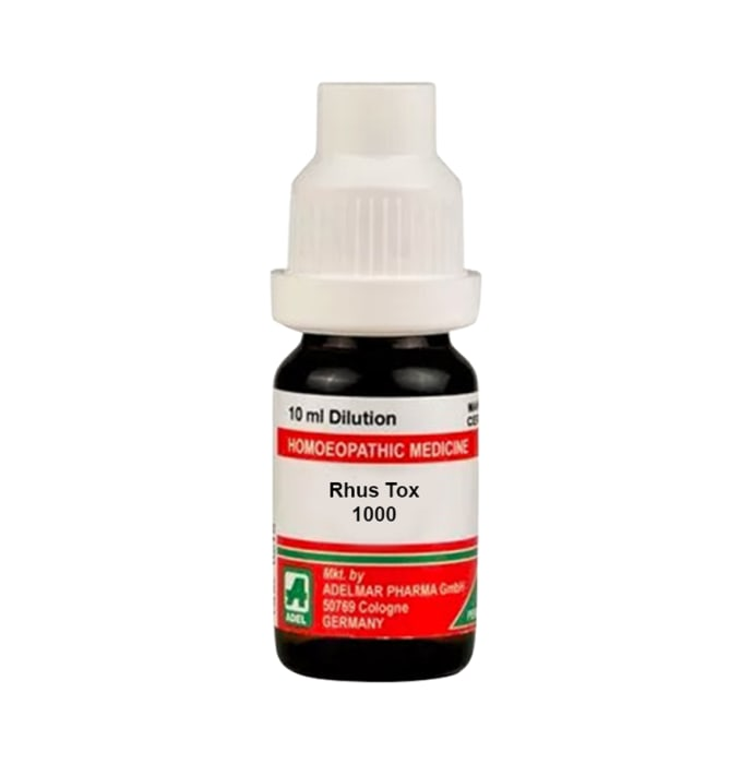 ADEL Rhus Tox Dilution 1000 CH