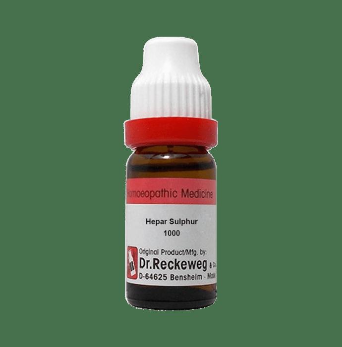 Dr. Reckeweg Hepar Sulphur Dilution 1000 CH