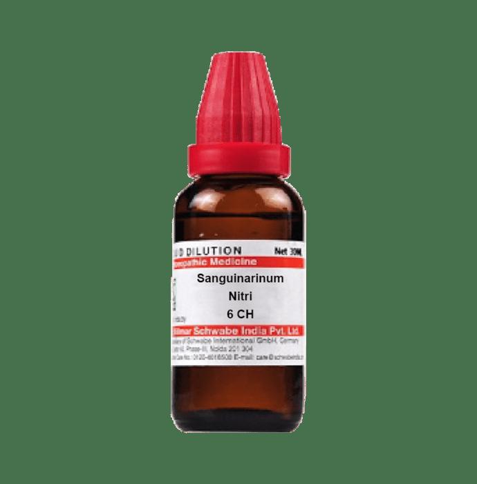 Dr Willmar Schwabe India Sanguinarinum Nitri Dilution 6 CH