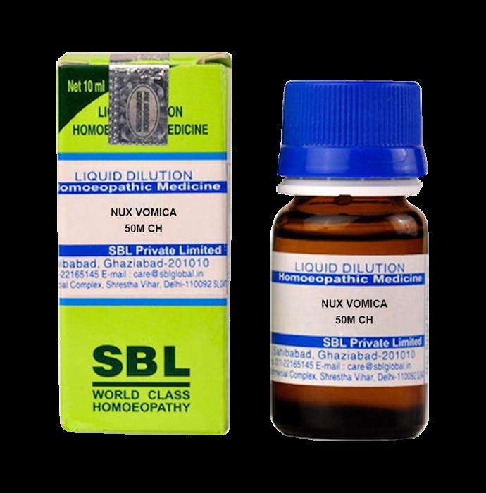 SBL Nux Vomica Dilution 50M CH