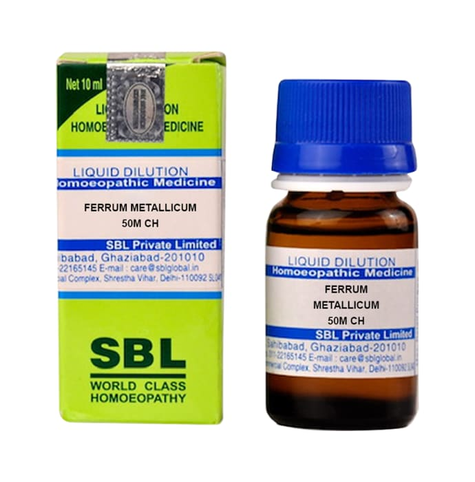 SBL Ferrum Metallicum Dilution 50M CH