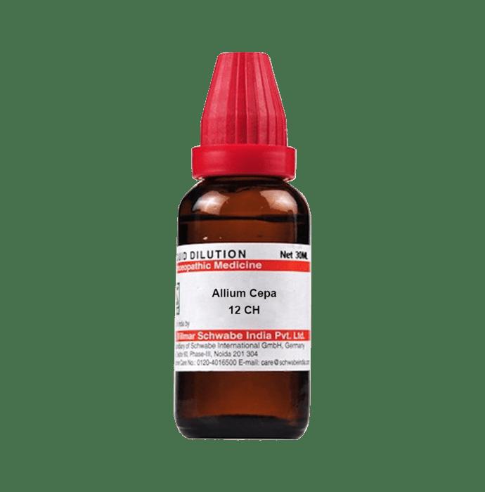Dr Willmar Schwabe India Allium Cepa Dilution 12 CH