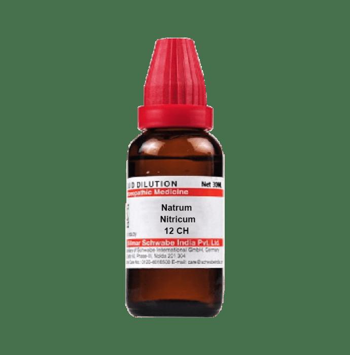 Dr Willmar Schwabe India Natrum Nitricum Dilution 12 CH